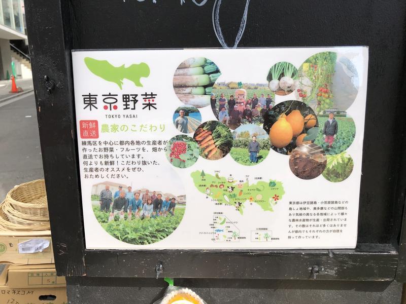 まほさんのminiyon 東京野菜への投稿